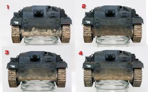 3号突撃砲B型 ウエザリング