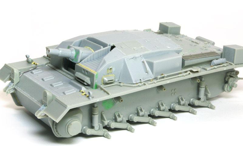 組立て完了 3号突撃砲A型
