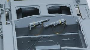 3号突撃砲F/8型 戦闘室のMP機関銃
