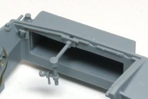 3号突撃砲F/8型 無線機が入る隙間
