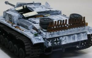 3号突撃砲F/8型 細部の塗分け