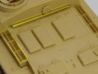 ラジエターのメッシュ 3号突撃砲戦車G型