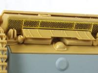 車体後部のメッシュ 3号突撃砲戦車G型