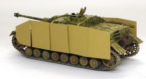 4号突撃砲 シュルツェンの基本塗装