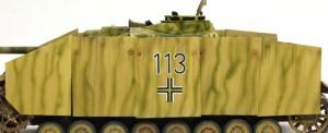 4号突撃砲 シュルツェンのウエザリング