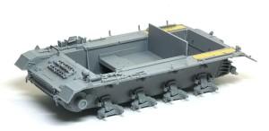 4号突撃砲 フェンダーとOVMの組立て
