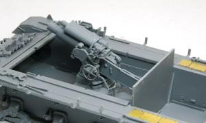 4号突撃砲 主砲の組立て