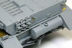 4号突撃砲 薄く削った排気管
