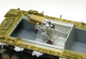 4号突撃砲 砲尾の塗装