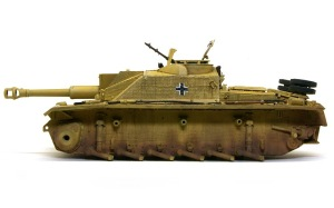 10.5cm突撃榴弾砲G型 ウエザリング