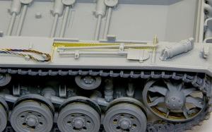 10.5cm突撃榴弾砲G型 左のフェンダー