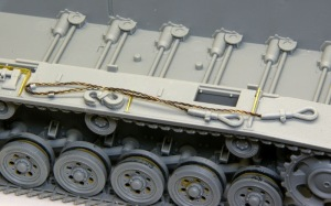 10.5cm突撃榴弾砲G型 右のフェンダー