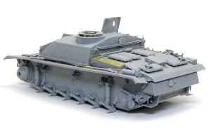 10.5cm突撃榴弾砲G型 車体外観が完成