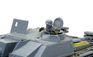 10.5cm突撃榴弾砲G型 ミニアートのフィギュアを組み立てる