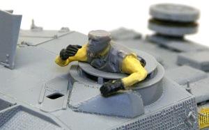 10.5cm突撃榴弾砲G型 腕の スクラッチ