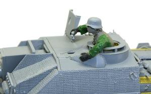 10.5cm突撃榴弾砲G型 フィギュアを乗せてみた