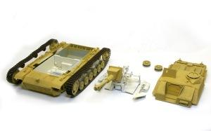 10.5cm突撃榴弾砲G型 基本塗装
