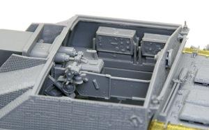 10.5cm突撃榴弾砲G型 かなり再現されているインテリア