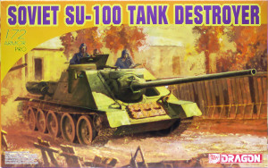 SU-100駆逐戦車