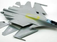 翼の組み立て