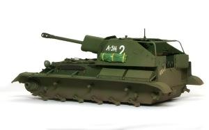 SU-76M自走砲 泥汚れ