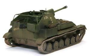 SU-76M自走砲 パステルワーク