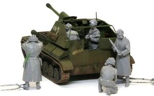 SU-76M自走砲 レイアウトの確認