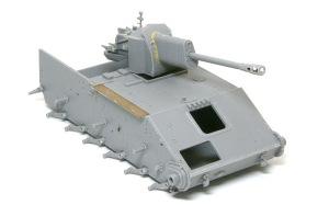 SU-76M自走砲 車体の組み立て