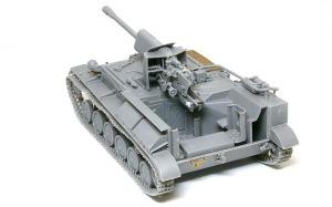 SU-76M自走砲 戦闘室の組み立て