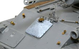 SU-76M自走砲 運転手のハッチ