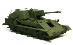 SU-76M自走砲 基本塗装