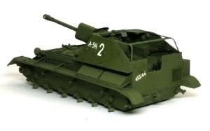 SU-76M自走砲 デカール貼り