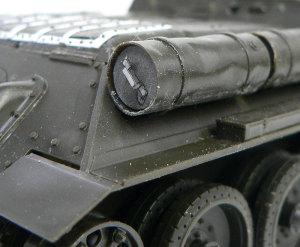 ソビエト・SU-85襲撃砲戦車 燃料タンクのディテールアップ