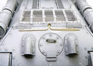 SU-85襲撃砲戦車 なんだか分からないパイプの追加