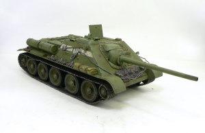 ソビエト・SU-85襲撃砲戦車 ウエザリング