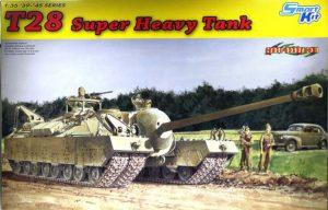 アメリカ・超重戦車T-28 1/35 サイバーホビー