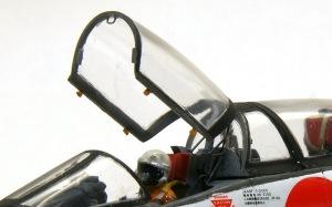 三菱T2-CCV キャノピーのディテールアップと取り付け