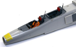 三菱T-2CCV フィギュアの製作