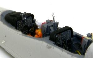 三菱T-2CCV 計器板はノーマルT-2のまま