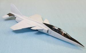 三菱T2-CCV キャノピーの塗装