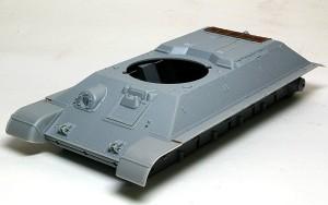 T-34/76 1940年型 車体の組立て