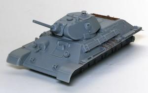 T-34/76 1940年型 組立て完了