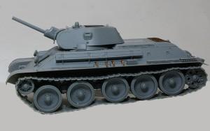 T-34/76 1940年型 足まわりの組立て