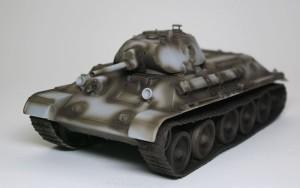T-34/76 1940年型 影吹き
