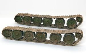 T-34/76 1940年型 足まわりの汚し