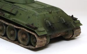 T-34/76 1940年型 ドライブラシ