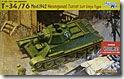 ソビエト・T-34/76戦車1942年型六角砲塔 1/35 サイバーホビー