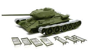 T-34/85 1944年型 ベッドスプリング装甲と基本塗装