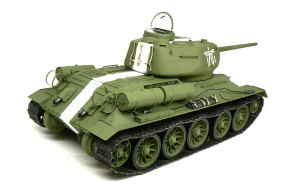 T-34/85 1944年型 細部の塗分けとデカール貼り