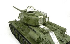 T-34/85 1944年型 ベッドスプリング装甲の取り付け